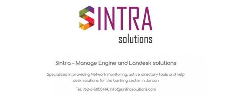 SINTRA SOLUTIONS | Web Design Jordan